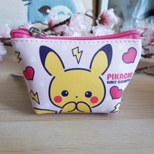 Mini trousse pikachu rose