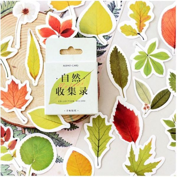 stickers feuilles